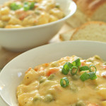 Cheesy Ham and Potato Soup Recipe SixSistersStuff