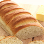 homemade french bread with homemade garlic butter