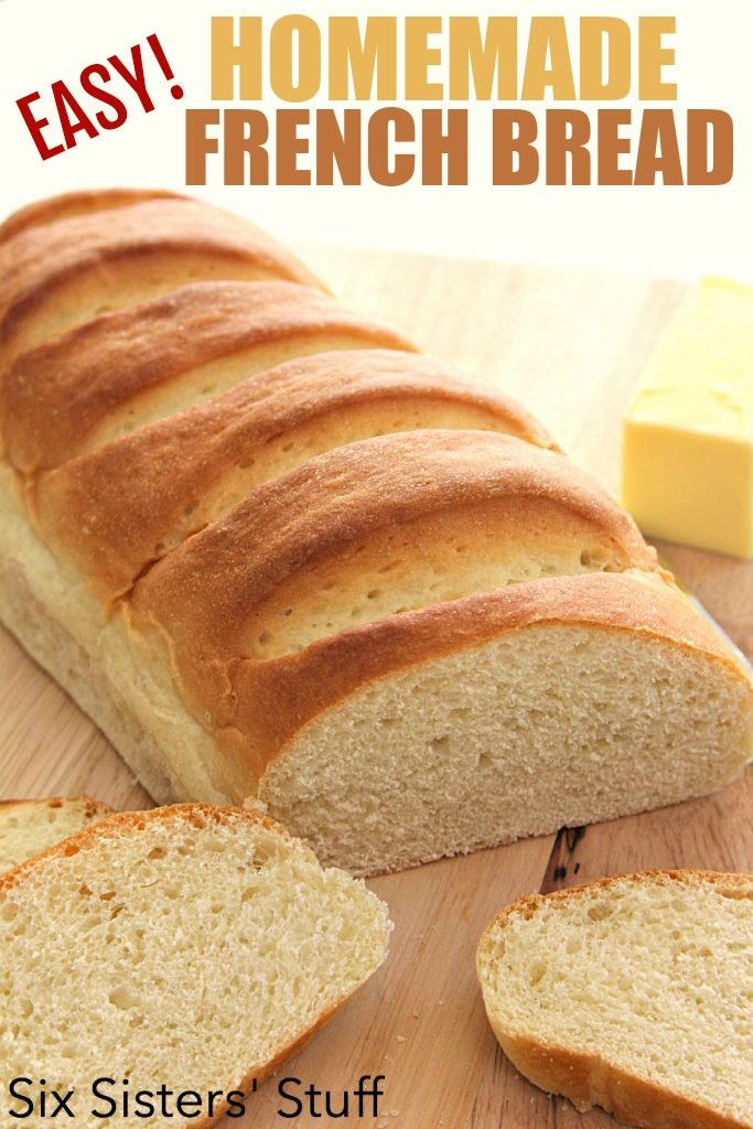 easy French bread for homemade garlic bread