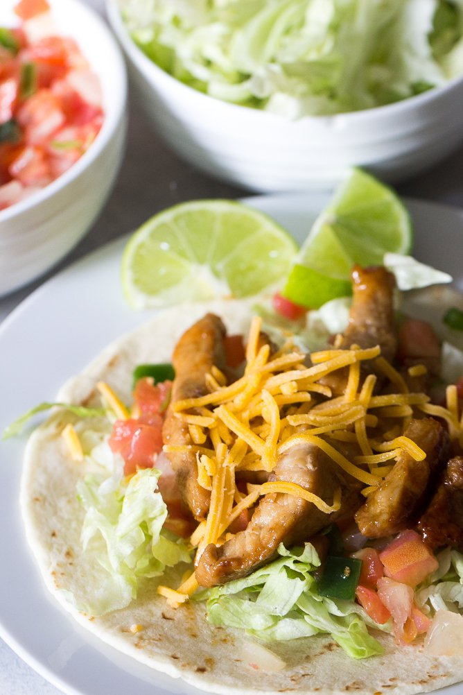 Honey Pork Tacos Recipe