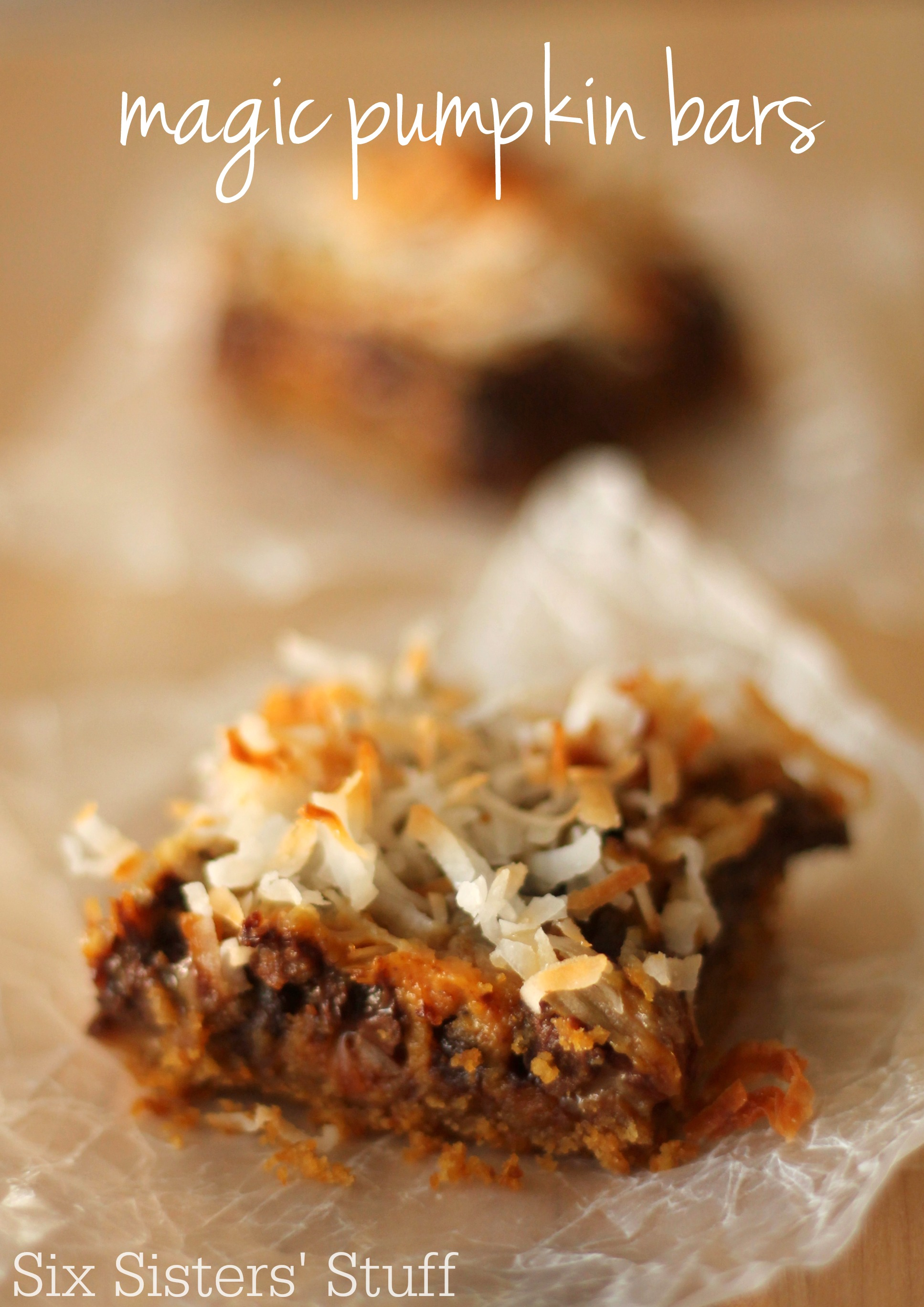 Magic Pumpkin Bars Recipe