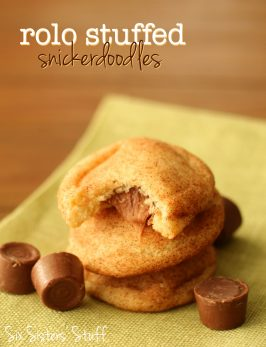 Rolo Stuffed Snickerdoodle Recipe