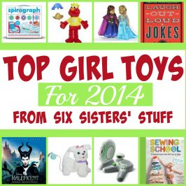 Top Girl Toys for 2014