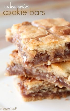 Cake Mix Cookie Bars Six Sisters