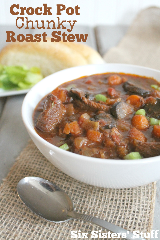 Slow Cooker Chunky Roast Stew Recipe