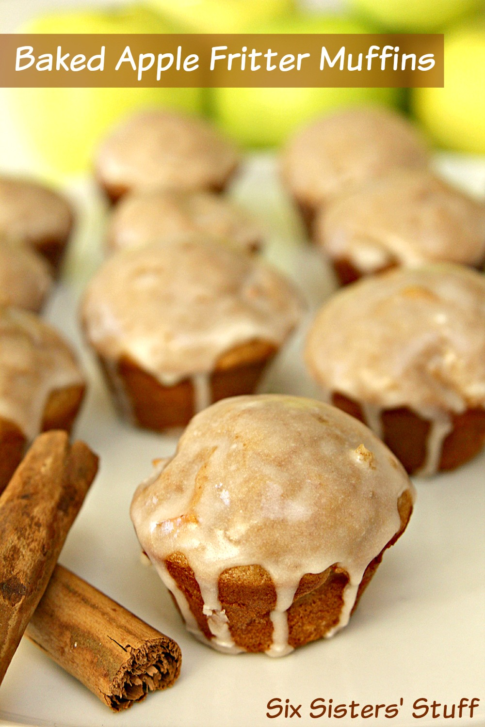 Baked Apple Fritter Muffins Recipe