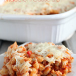Cheesy Macaroni Casserole 1