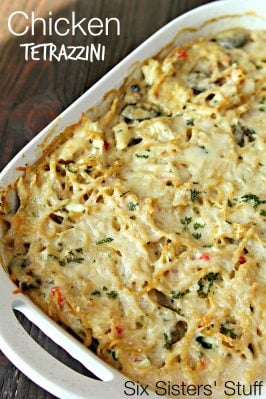 Chicken Tetrazzini Casserole Recipe