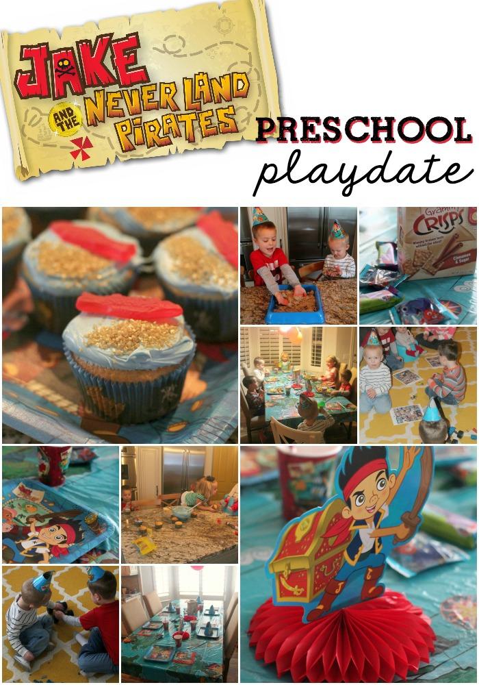 Disney Kids Jake and the Neverland Pirates Preschool Playdate