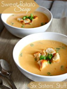 Sweet Potato Soup 1