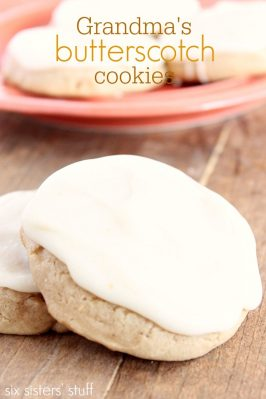12 Days of Christmas Recipe Contest Winner: Butterscotch Cookies