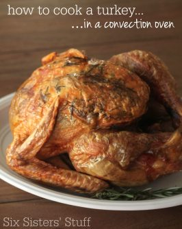 How To Cook A Turkey {in a convection oven}