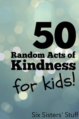 50 Random Acts of Kindness for Christmas