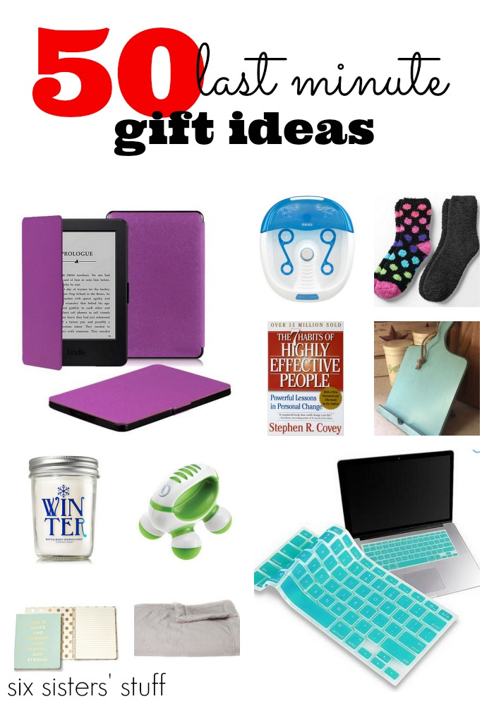 50 Last Minute Gift Ideas Six Sisters Stuff
