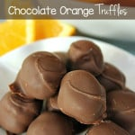 Chocolate Orange Truffles on SixSistersStuff