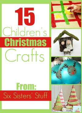 15 Children's Christmas Crafts