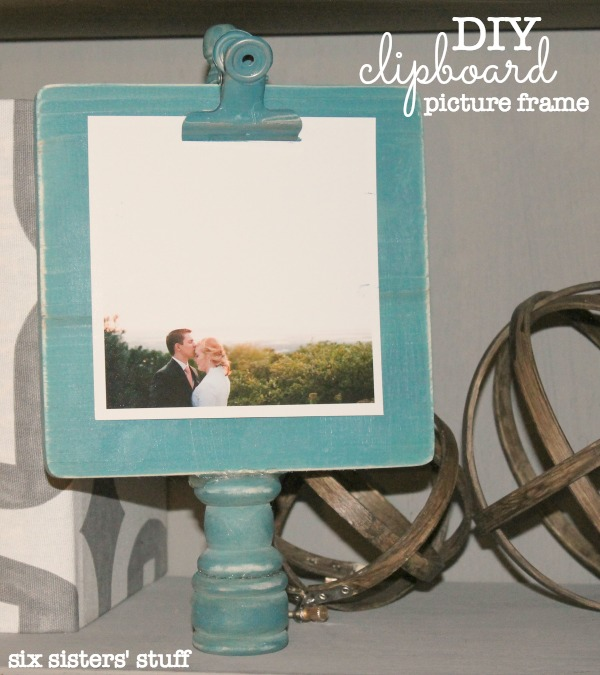 DIY Clipboard Picture Frame