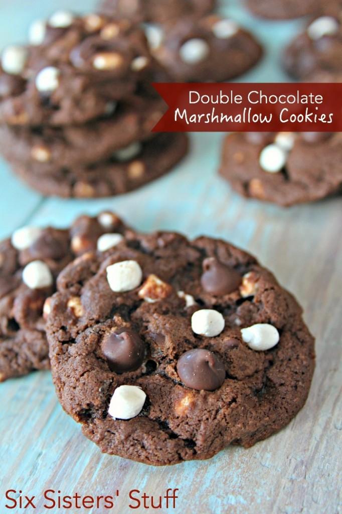 Double Chocolate Marshmallow Cookies – Six Sisters' Stuff