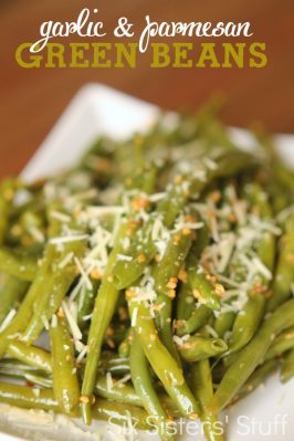 Garlic Parmesan Green Beans Recipe