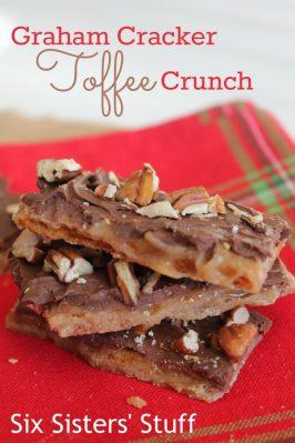 Graham Cracker Toffee Crunch Recipe