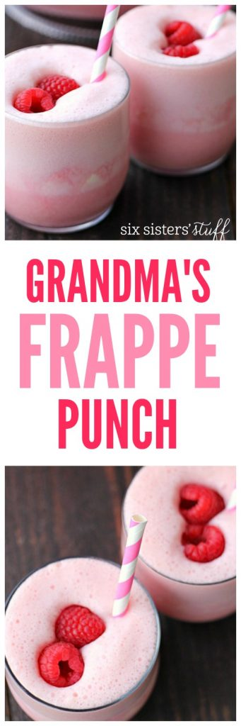 Grandma's Frappe Punch on SixSistersStuff
