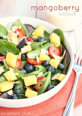 Mangoberry Salad