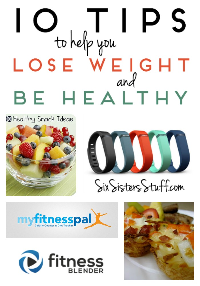 10 Tips to help you Lose Weight on SixSistersStuff