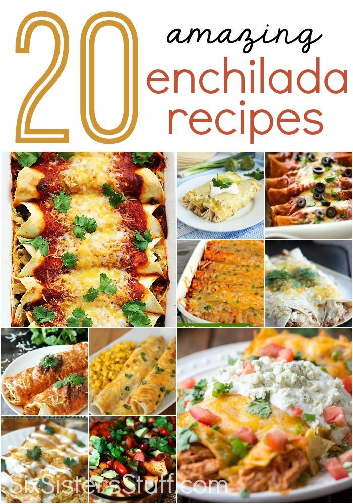 20 Amazing Enchilada Recipes