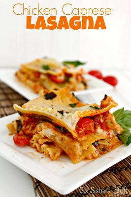 Caprese Chicken Lasagna Recipe