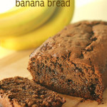 Chocolate Banana Bread on SixSistersStuff