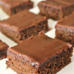 Chocolate Zucchini Sheet Cake on SixSistersStuff