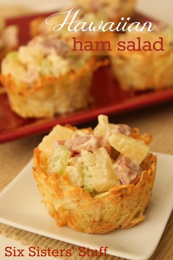 Hawaiian Ham Salad Recipe