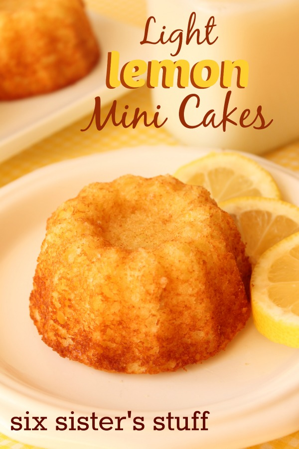 Light Lemon Mini Cakes