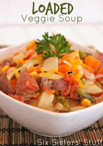 Loaded Veggie Soup