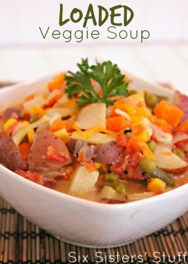 Healthy Loaded Veggie Soup