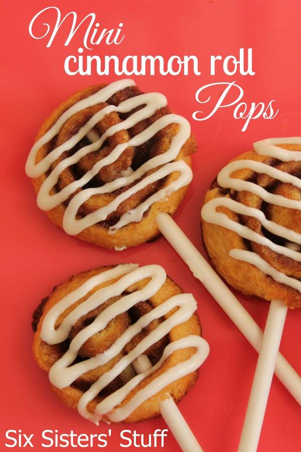 Mini Cinnamon Roll Pops Recipe
