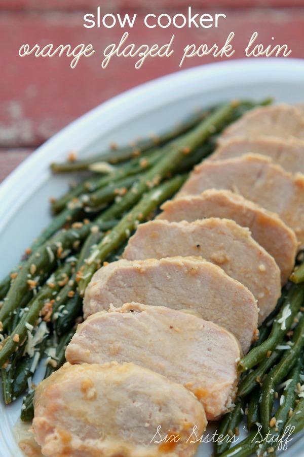 Slow Cooker Orange Glazed Pork Tenderloin Recipe