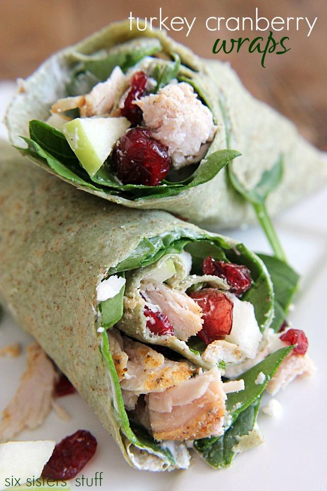 turkey-cranberry-wraps