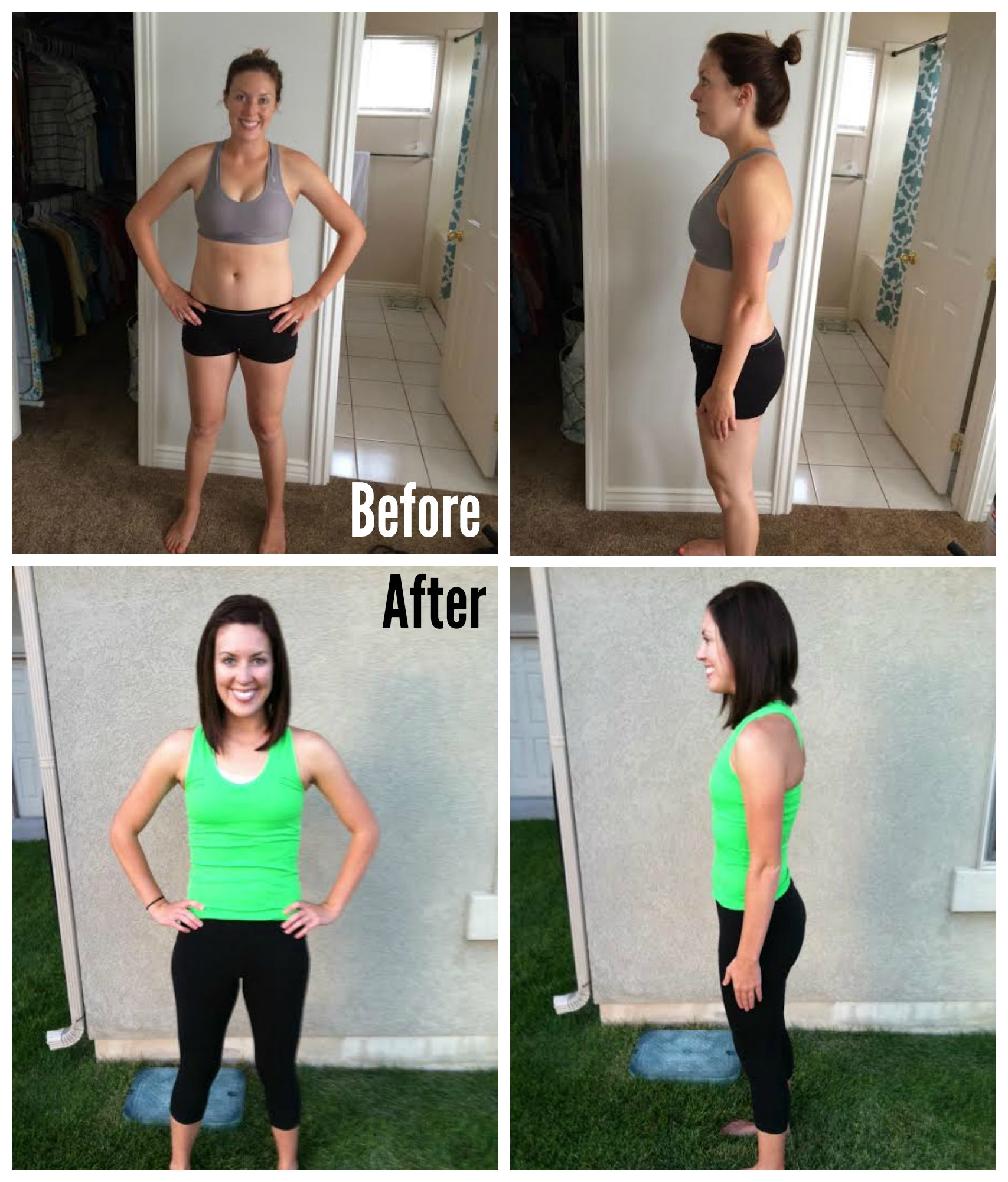 Before and After Baby Weight SixSistersStuff