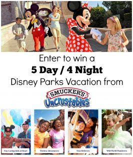 Share your Disney Adventure from Smuckers Uncrustables