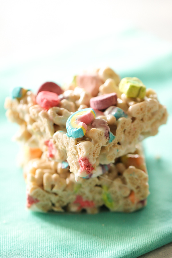 Lucky charms bars recipe