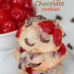Shortbread Cherry Chocolate Cookies 2