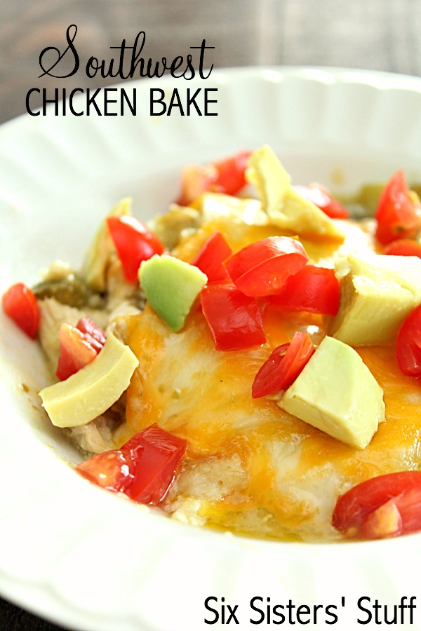Easy Southwest Chicken Bake