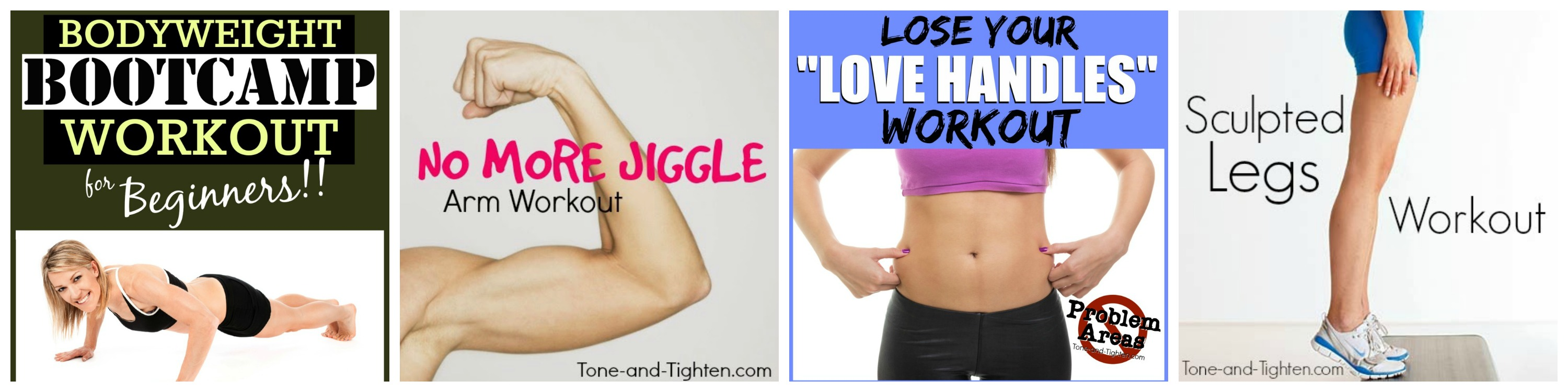 Workouts on Tone-and-Tighten