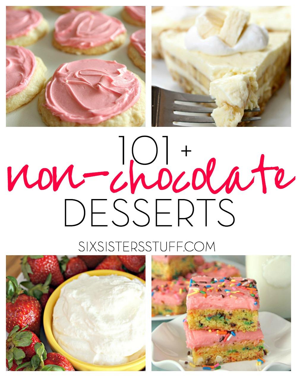 101+ Non-Chocolate Desserts