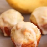 Banana and Peanut Butter Mini Muffins
