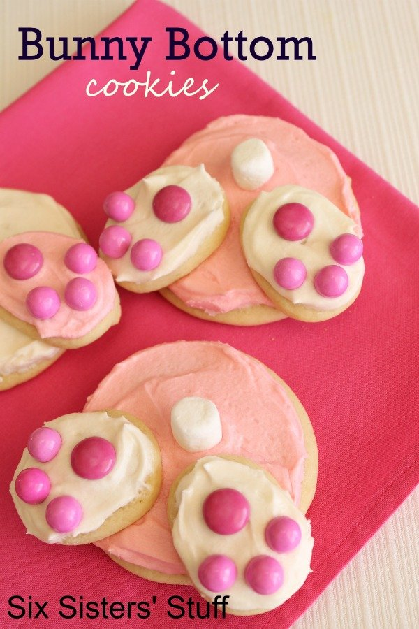Bunny Bottom Cookies Recipe