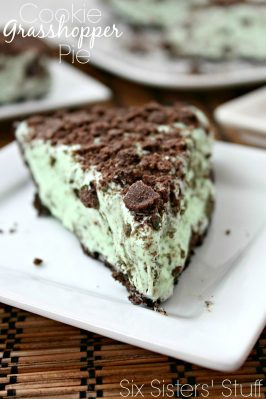 Cookie Grasshopper Pie