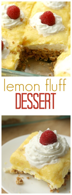 Lemon Fluff Dessert Pin