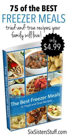 75 of the Best Freezer Meals eCookbook